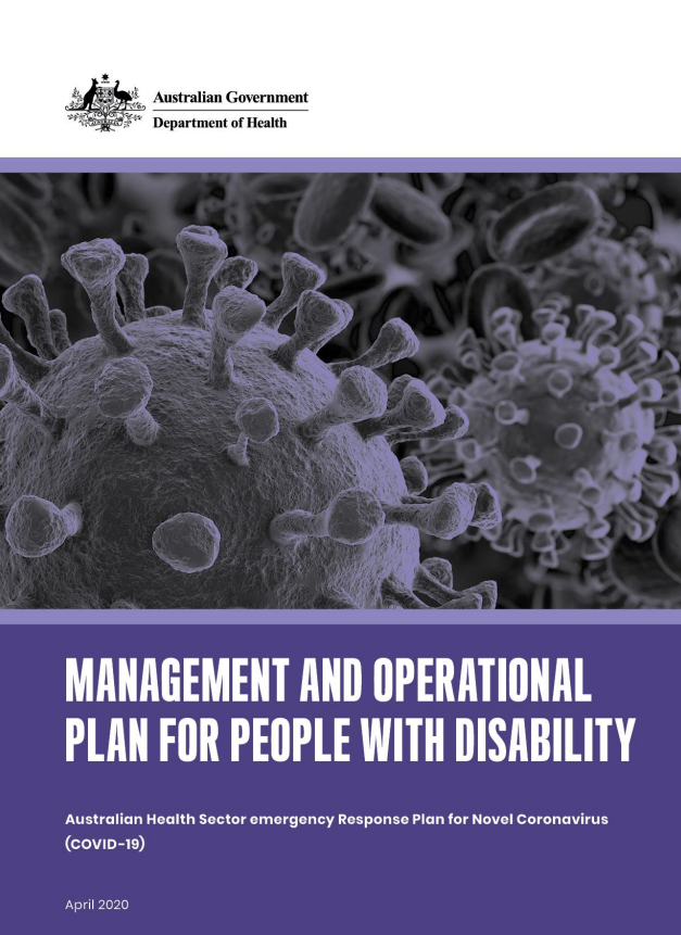 Management and Operational Plan for People with Disability
