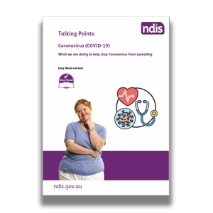 NDIS Easy Read Guide to Coronavirus